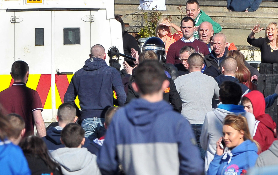 Police pelted with petrol bombs in Lurgan's Kilwilkie estate