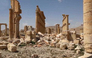 150 bombs removed from recaptured Syrian archaeological site