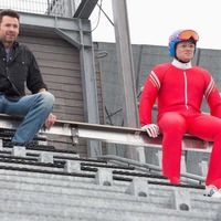 On Eagle's wing: Eddie The Eagle goes for feel-good comedy gold