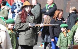 Easter Rising: Hundreds take part in commemoration in Ardoyne