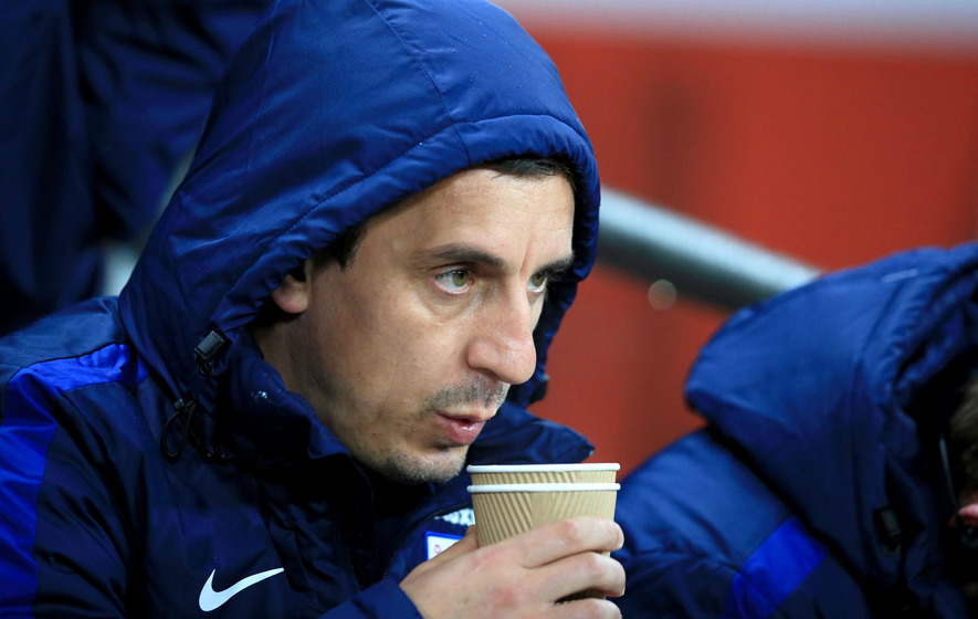 Gary Neville accepts he failed as a manager at Valencia
