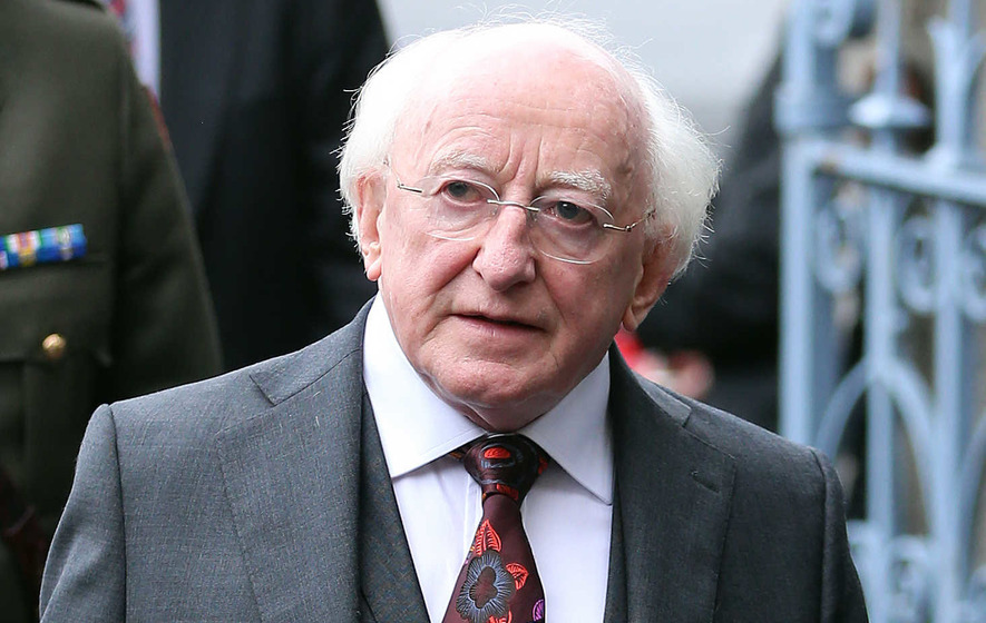 Michael D Higgins pulls out of civic dinner at Belfast ...
