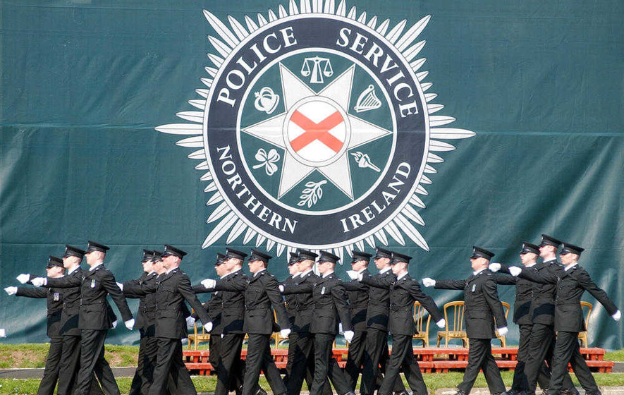 PSNI issues 2,000 officers with pairs of trousers with waists of 40 inches or more