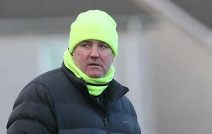 Lurgan Celtic boss Collie Malone may have found an answer - of sorts - to their goalkeeping crisis for Irish Cup semi with Linfield
