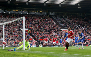 United Champions League hopes alive after Martial winner