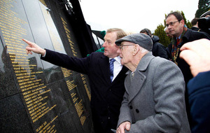 Easter Rising: Scuffles as victims' memorial unveiled with names of all killed during events of 1916