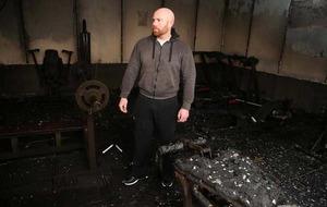 Owner tells of devastation at gym arson at Co Tyrone GAA club