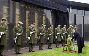 Easter Rising remembrance wall spelling mistake to be corrected 'immediately'