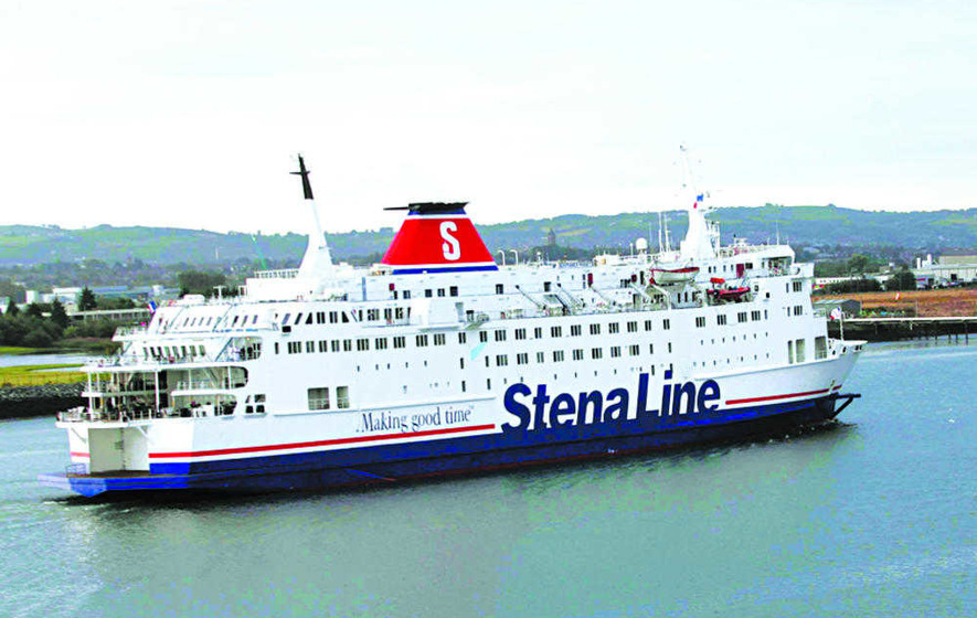 Passenger escorted off Stena Line ship by police over 'inappropriate behaviour' on board