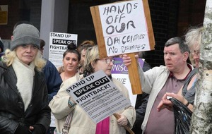 Day care protest held at Belfast City Hospital