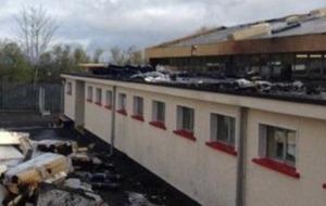 Classes go ahead at Derry's Holy Child Primary School despite arson attack