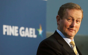Enda Kenny offers Michael Martin equal partnership in government