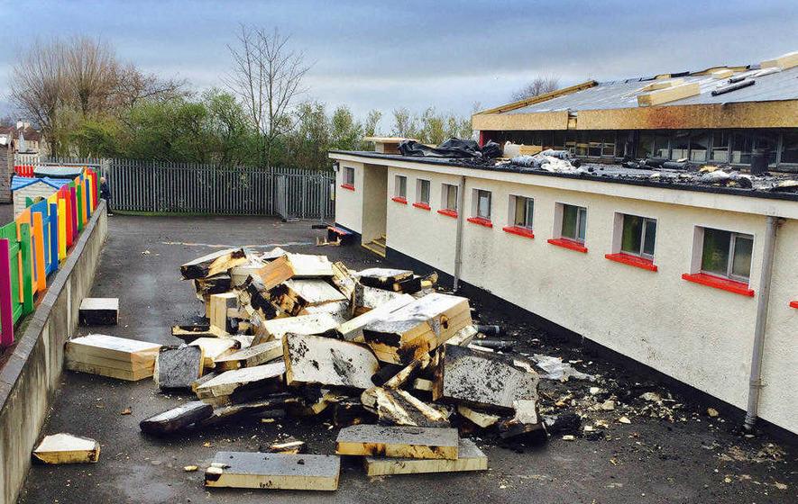 Derry school arson: Three children interviewed over attack