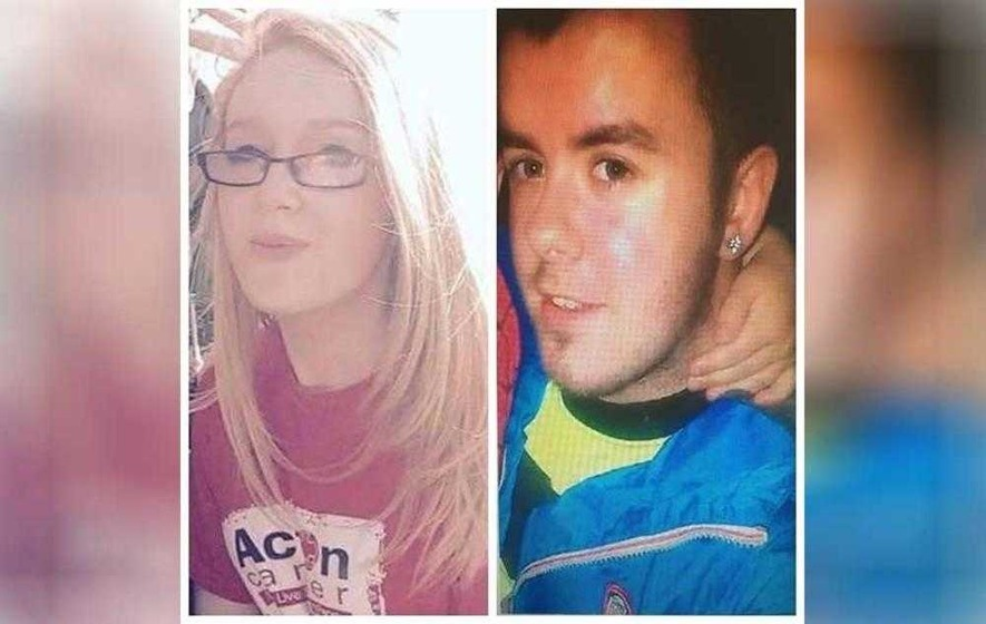 Missing Craigavon pair Chelsea McGarry and Daire McIlroy found