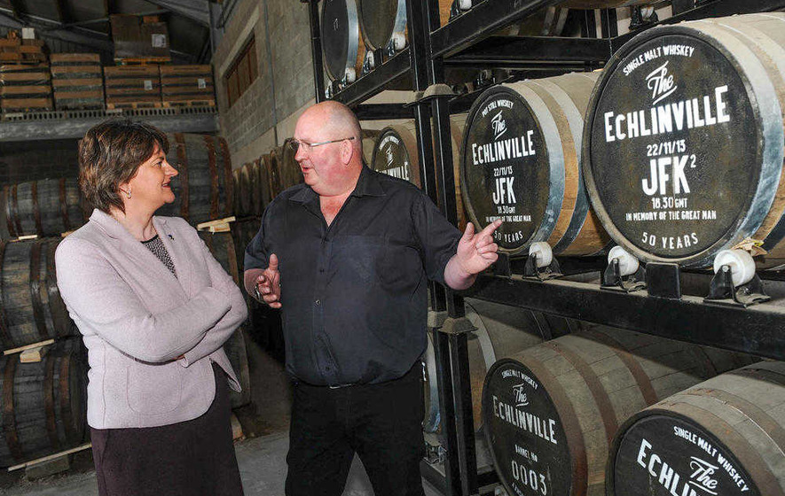 Northern Ireland's newest distillery Echlinville opens doors to public