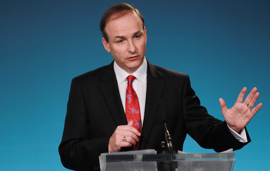 Fianna Fail rejects 'historic' power-sharing deal with Fine Gael