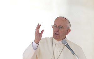 Pope Francis calls on Catholic Church to be less judgmental