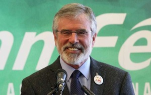 Election guidelines scupper BBC broadcast of Gerry Adams's Ard Fheis speech