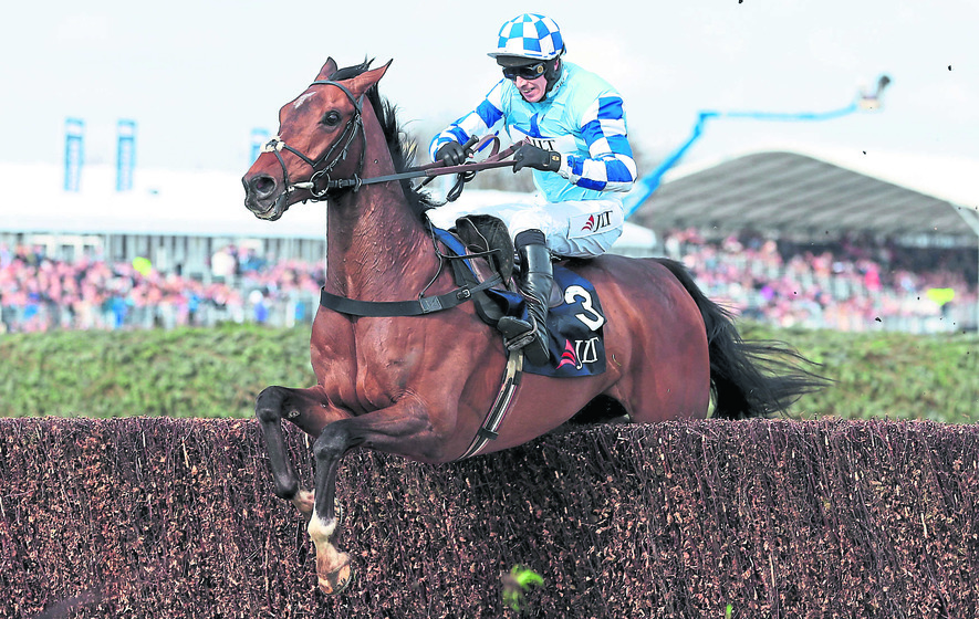 Brennan cashes in as Vautour fall rules Ruby out of National