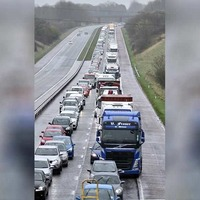 M1 traffic chaos: woman tells of five hour delay