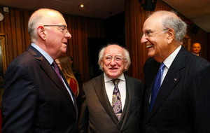 George Mitchell in Dublin for Easter Rising to peace process event