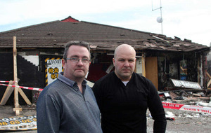 Business owner hits out at those responsible for arson attack