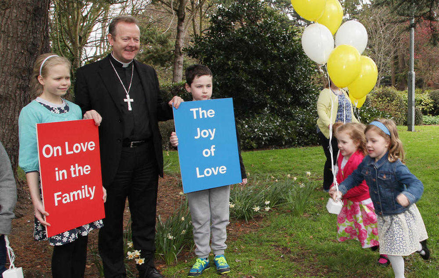 Archbishop Eamon Martin welcomes publication of Amoris Laetitia