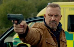 Cowboy Kevin Costner shoots from the hip in Criminal