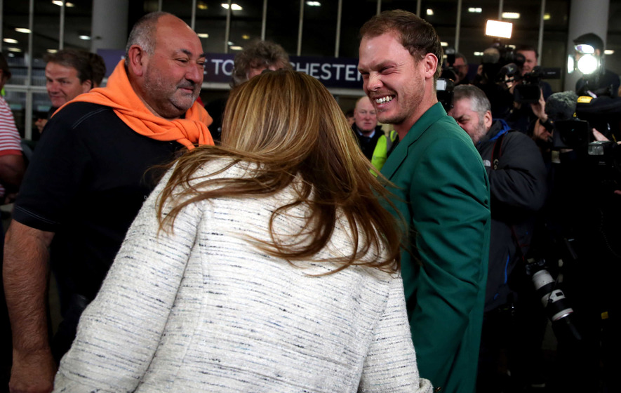 Danny Willett gets taste of his new life as Masters champion