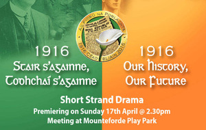 Dramas in Belfast and Tyrone to examine role of north in 1916 Rising