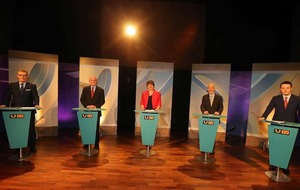 Liveblog - UTV Election Debate