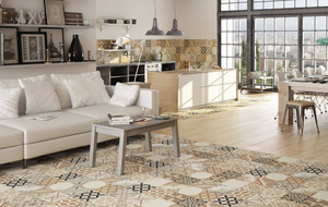 For an 'absolutely floorless' looking home