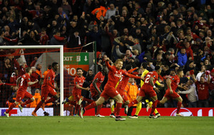 Liverpool created a special moment in win - Divock Origi