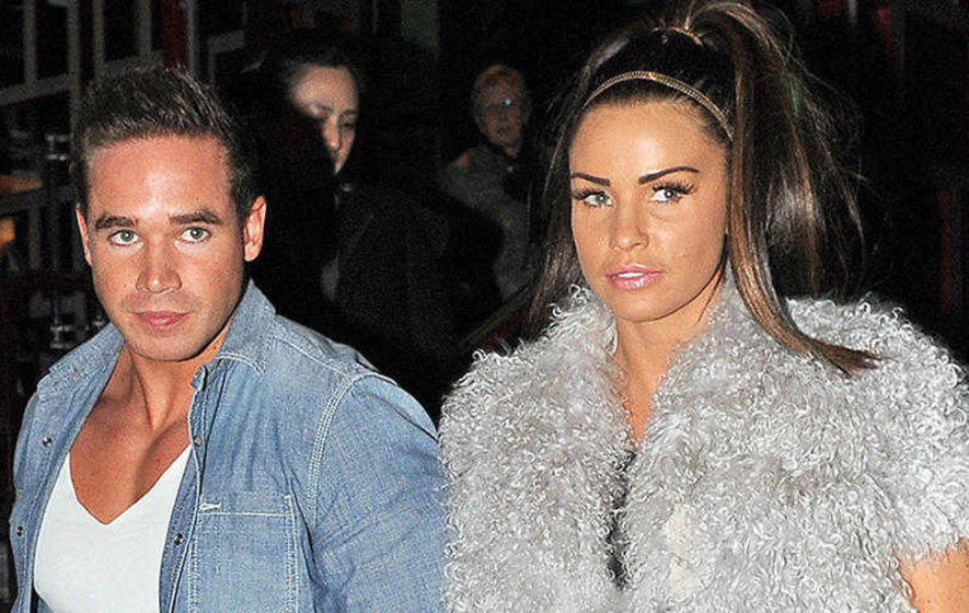 Katie Price's husband gets a full-length tattoo of her