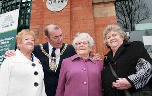Belfast Blitz: Plaque unveiled to mark 75th anniversary