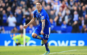 Ten man Leicester salvage point with injury time penalty