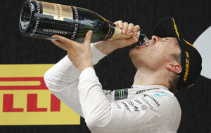 Three in-a-row Nico Rosberg joins illustrious company