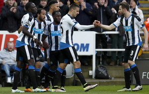Newcastle must take season by the scruff - Andros Townsend