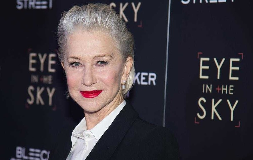 Helen Mirren; Swapping fancy frocks for fatigues in new film