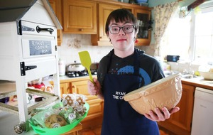 Baker Ryan Bogues (21) hailed for his cooking for good causes