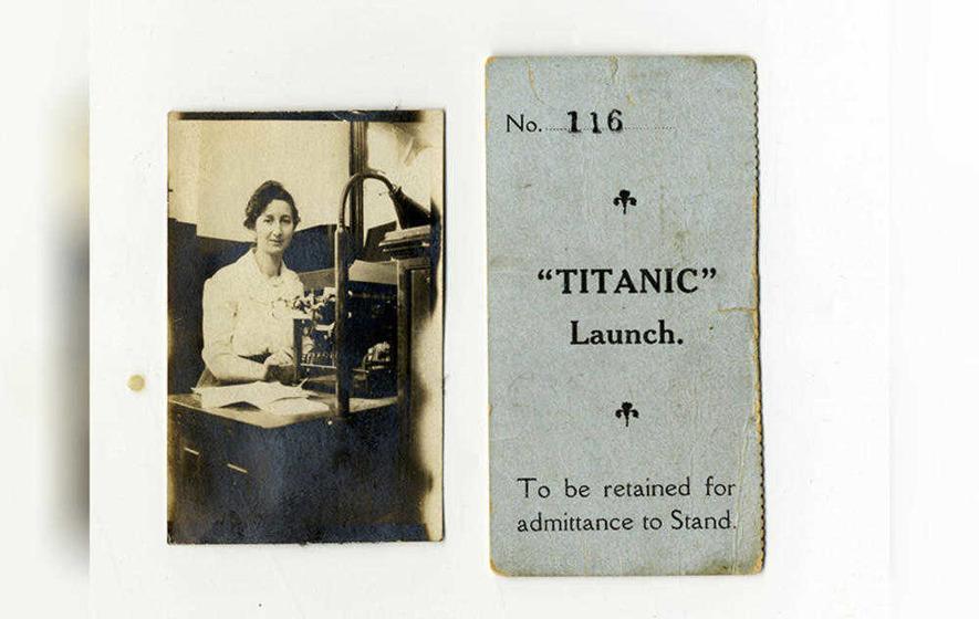 Exceptionally Rare Titanic Ticket Stub To Go Under