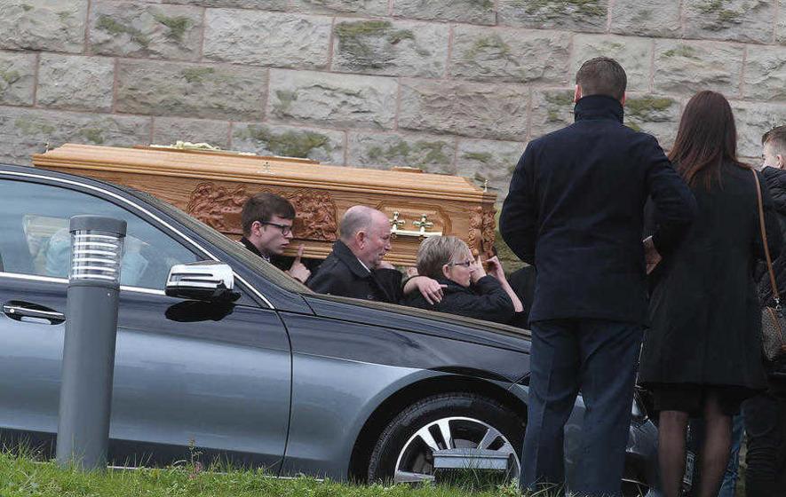 Funeral held for north Belfast schoolboy Aaron Fox (16)