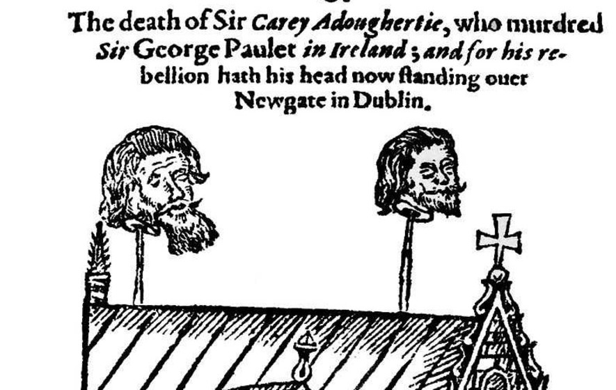 On This Day in 1608 - Derry burned to the ground in O'Doherty's Rebellion