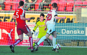 Crusaders down Cliftonville to retain Premiership title