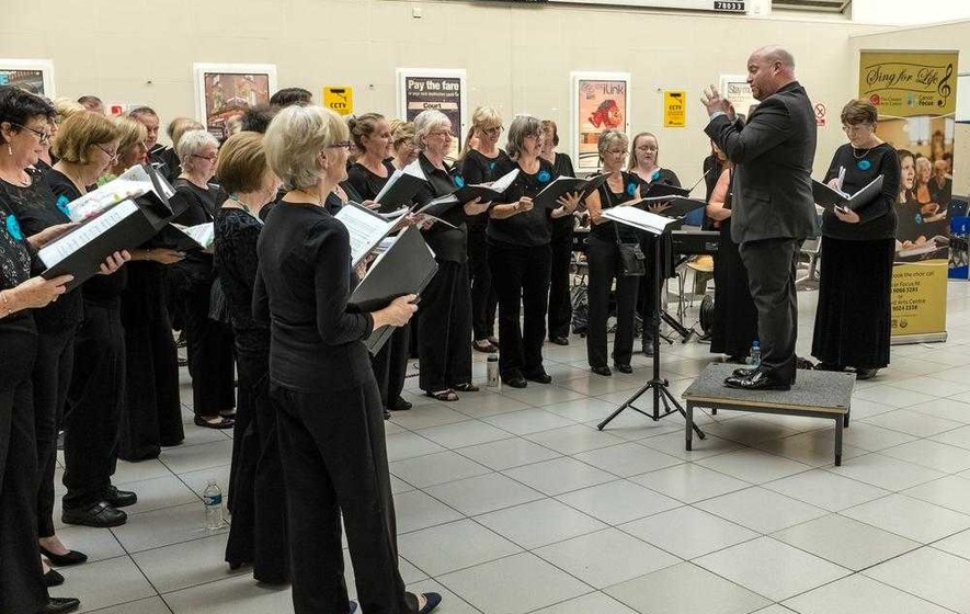 Belfast cancer choir Sing For Life hitting the right note