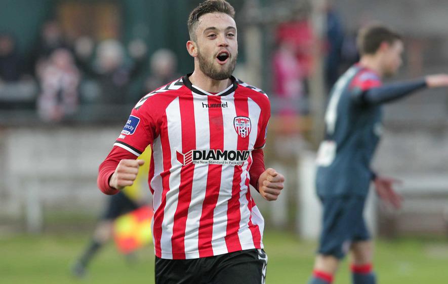 Derry City ease past Sligo Rovers in EA Sports League Cup