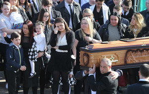 Ardoyne murder victim Michael McGibbon laid to rest