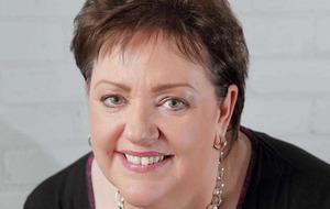 On song: Belfast Community Gospel Choir's Marie Lacey