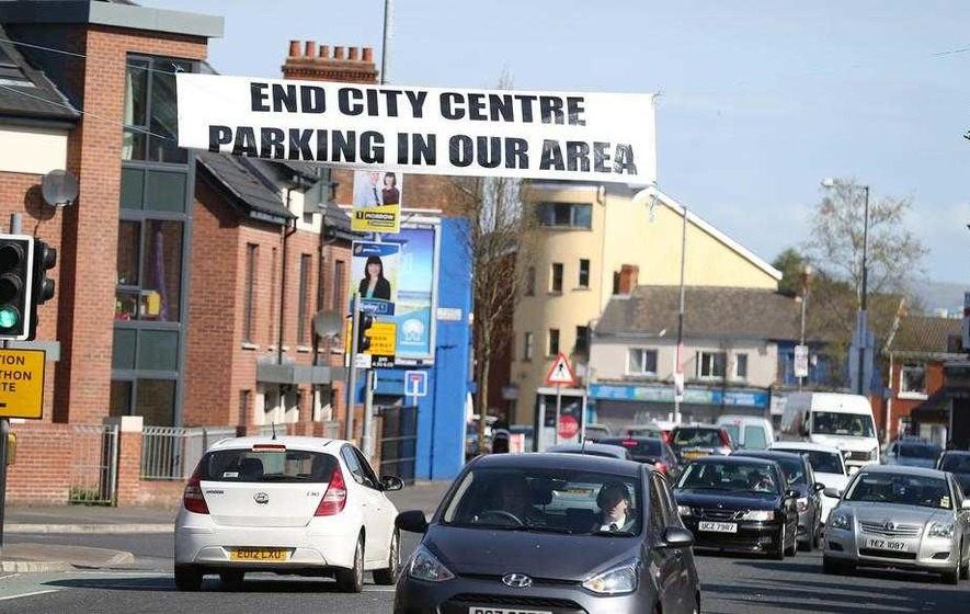 Ravenhill is latest area of Belfast to see anger over commuter parking