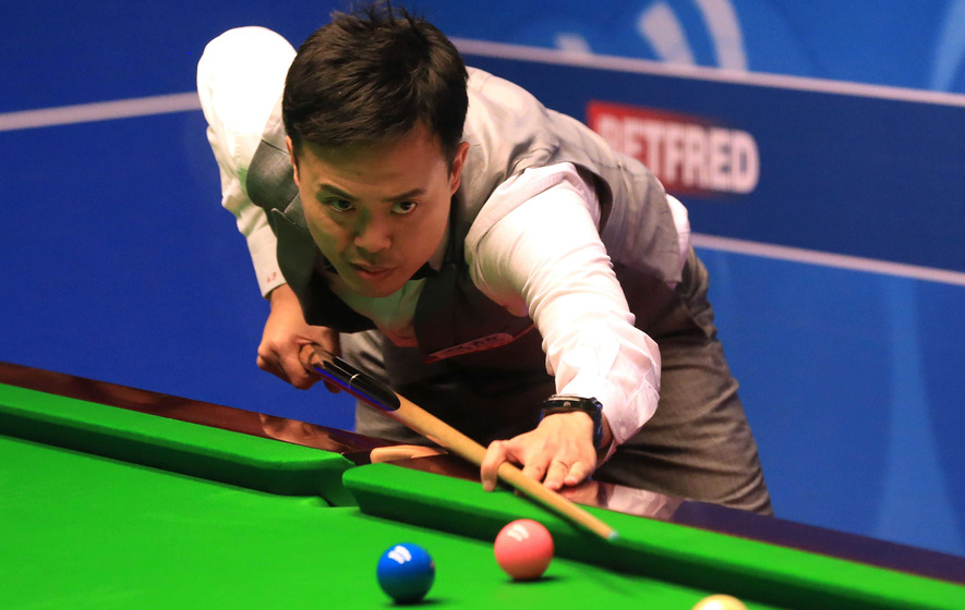 Marco Fu maintains two-frame advantage over Anthony McGill - The ...